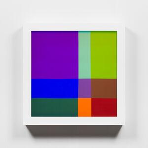 Spencer Finch, 'Color Test (9)', 2019