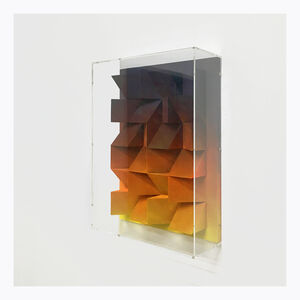 Jan Albers, 'burningsmallfirEs', 2018