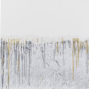 Anastasia Faiella, 'Fleeting Memory in Ochre with Grey', Contemporary