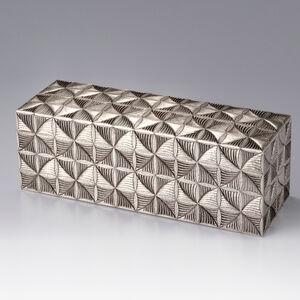 Otsuki Masako, 'Silver Box with Fern Patterns', 2016