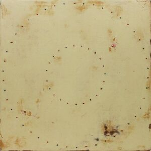 Kris Cox, 'HALCYON RING SERIES Mixed Media Abstract Painting', 1990-1999