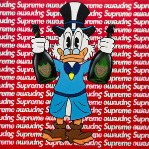 Louis-Nicolas Darbon, 'Scrooge x supreme', 2019
