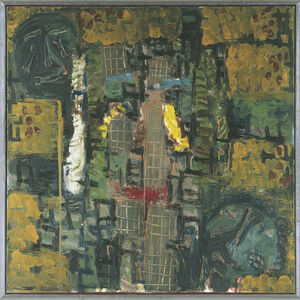 """Markus Lüpertz, '""""Männer ohne Frauen. Parsifal""""', 1994"""