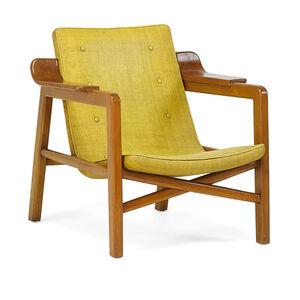 Edvard Kindt-Larsen, 'Fireside chair, Denmark', 1950s
