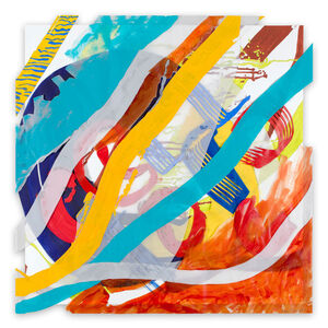 Ellen Priest, 'Jazz Cubano #20: Arturo and Elio, Thinking Out Loud (Abstract painting)', 2016