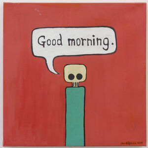 Jan Håfström, 'Good morning and Good night (Diptych) ', 2015