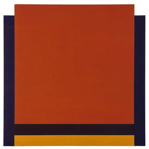 Michael Johnson (b. 1938), 'Frontal', 1968
