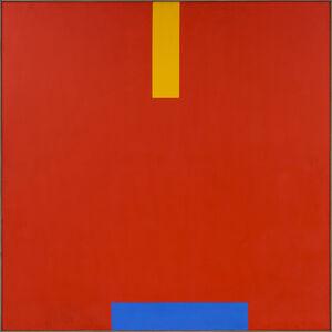 John Plumb, 'Blue Shift on Red Field ', 1968