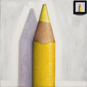 Anthony Mastromatteo, 'Picture in Picture: A Yellow Prismacolor Pencil', 2016