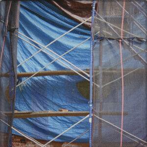 Luanne Rimel, 'Blue Tarp / Manhattan', 2019