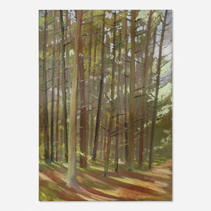 Morgan Colt, 'Untitled (path in trees)', 1905
