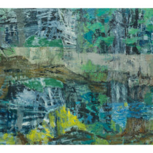 Joanna Logue, 'Blue forest pool', 2019