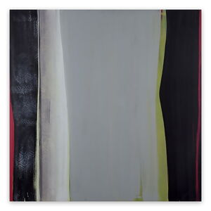 Marcy Rosenblat, 'Gray Center (Abstract painting)', 2015