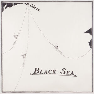 """Aleksandra Mir, 'Black Sea/Odessa, From """"The World from Above"""" series'"""