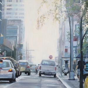 Karen Woods, ' Morning Manhattan', 2019