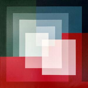 Salvador Santos, 'Geometry madness III', 2020