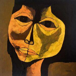 Oswaldo Guayasamín, 'Head', 1970