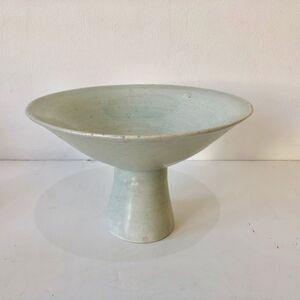 Bernard Leach, 'Celadon Pedestal Bowl or Tazza', 1967