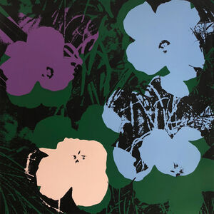 Andy Warhol, 'Flowers 11.64', 1967 printed later