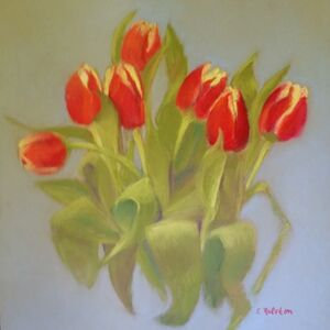 Elaine Ralston, 'Just Tulips', 2018