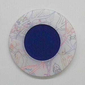 Lula Motra, 'White and Black Hole - figured', 2015