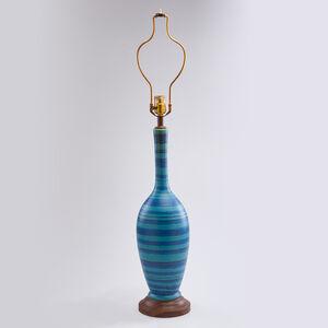 "Glidden, 'Vasiform table lamp from the ""Gulfstream"" line'"