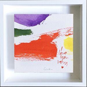 Corita Kent, 'Valentine Painting (I Love You)', ca. 1975