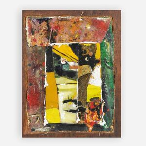 Kagiso Pat Mautloa, 'The face', 1990
