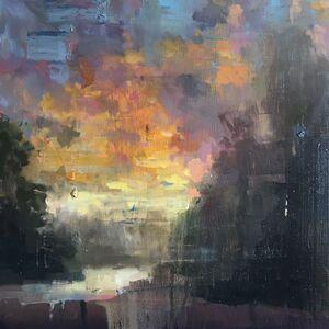 Gage Opdenbrouw, 'Bogachiel River', 2019