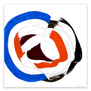 Ellen Priest, 'Jazz Cubano #50: Percussion Drawing  (Abstract painting)', 2012