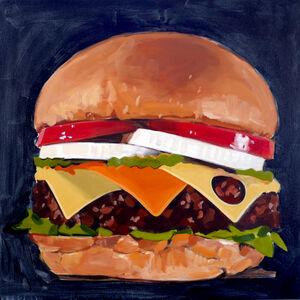 Walter Robinson, 'Unidentified Cheeseburger', 2018