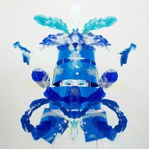 Kimiko Yoshida, 'RorschachYoshida LXX (Hugo Ball L)', 2018
