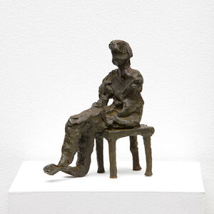 Elisabeth Cummings, 'Figure with chair', 2017