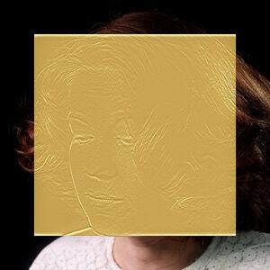 Esther Shalev-Gerz, 'The Gold Room (Metal Cup Portrait)', 2016