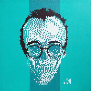 Krayon, 'Keith PostPortrait', 2012