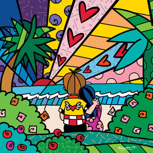 Romero Britto, 'Tomorrow', 2018