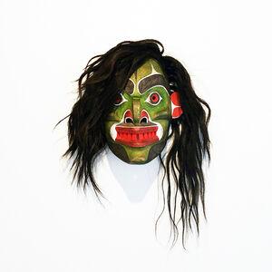 Beau Dick, 'Winalagalis (War Spirit) Mask', 2015
