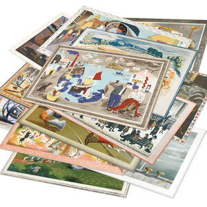 Various Artists (20th century), 'The School Prints - Set of 24', 1947-1949