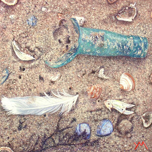 Yvonne Melchers, 'Washed Ashore X | North Sea Beach', 2018