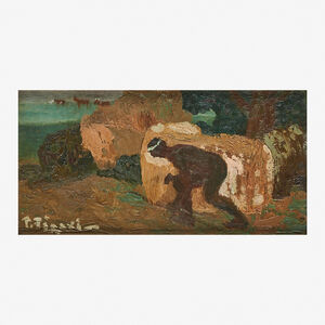 Pedro Figari, 'Untitled (Hiding Figure)'