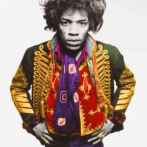 Gered Mankowitz, 'Jimi Classic Colour, Mason's Yard Studio, London', 1967