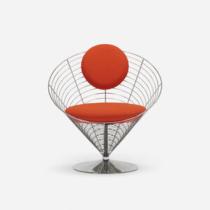 Verner Panton, 'Cone chair', 1958