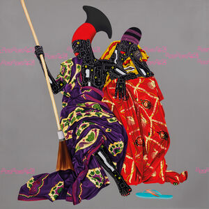 Eddy Kamuanga Ilunga, 'Untitled, ed. 25', 2016