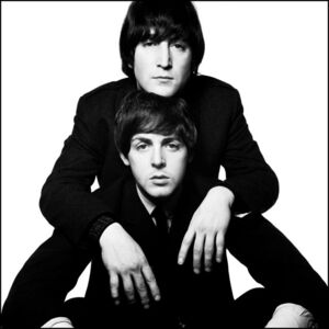 David Bailey, 'John & Paul', 1965