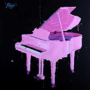 Sylvain Lang, 'Piano Rose', 2018