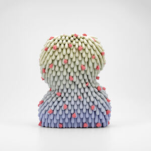 Linda Lopez, 'Bubble Yum Dust Furry ', 2020