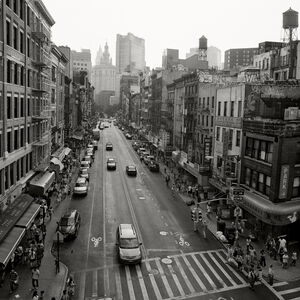 Garie Waltzer, 'New York City - Chinatown - East Broadway and Market', 2012