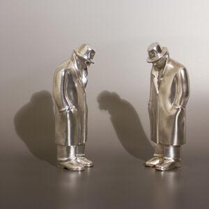 Siegfried Neuenhausen, 'Two Equals - Silver'