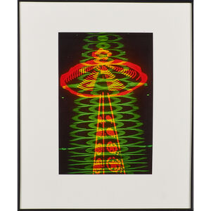 Norman Rothschild, 'Untitled (abstract lights) (framed)'
