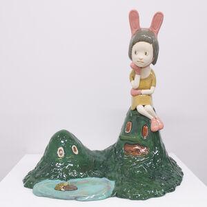 Yasuhito Kawasaki, 'Rabbit and Turtle', 2018
